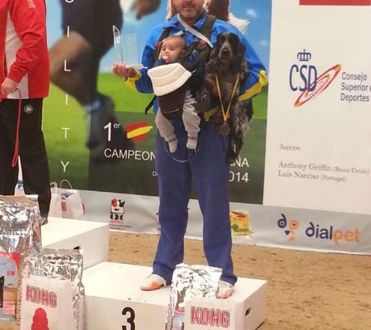 Lúa Tercera en el Campeonato de España RFEC